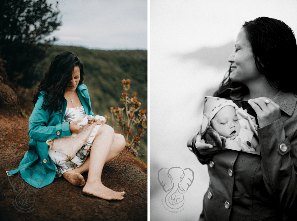 We used Adrian's things in some of the photos. At times I became emotional (Luna Kai Photography)
