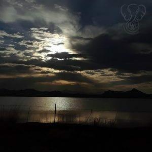 Sunset over Arizona - Feature
