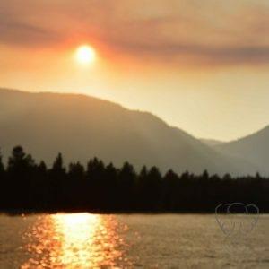 Sunset over Lake Tahoe (Miranda Hernandez)