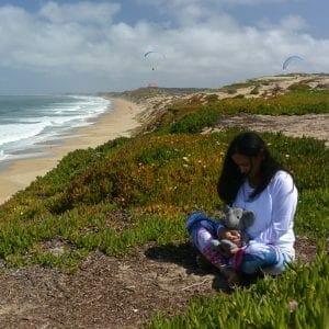 Miranda and Adrian's Elephant on the California coast
