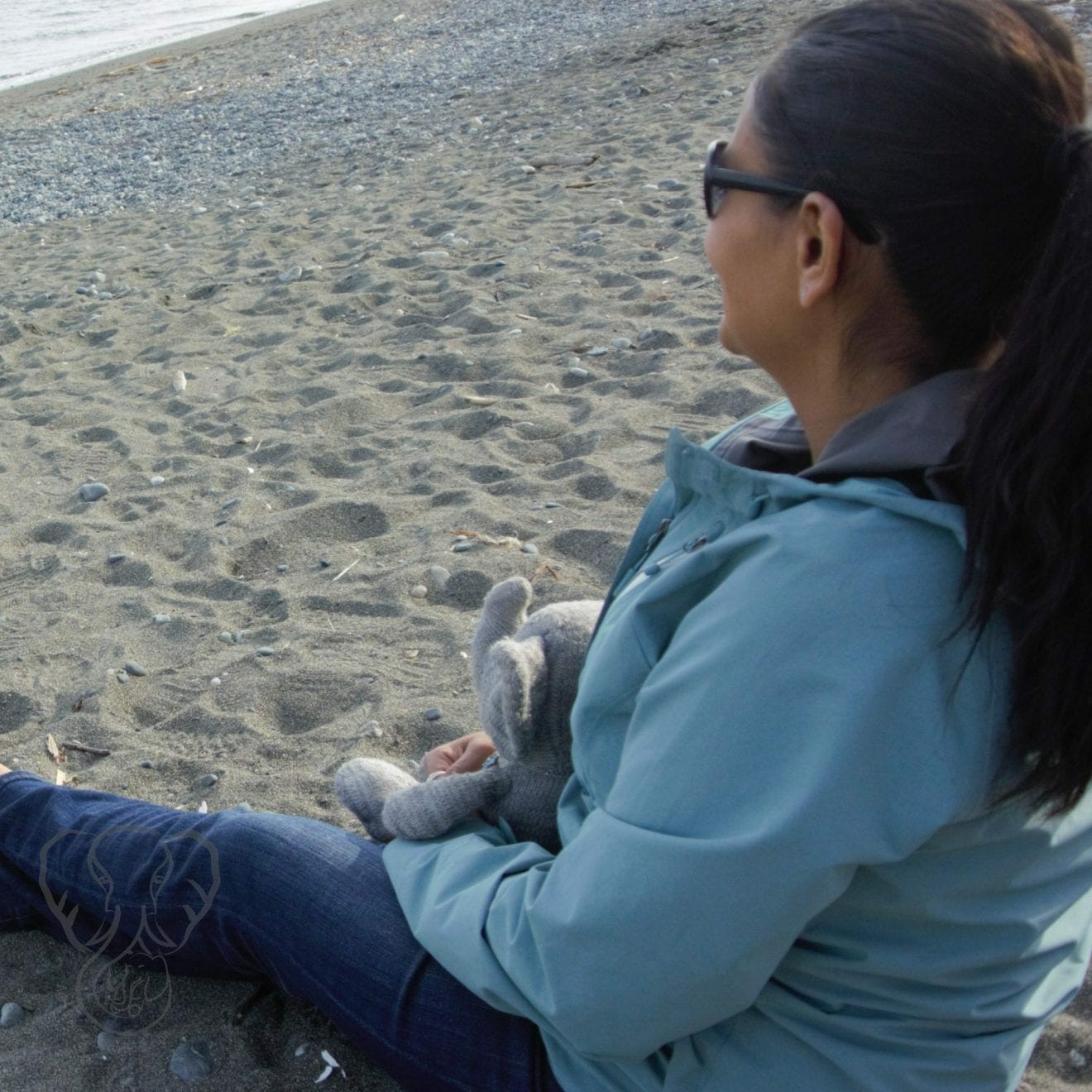 Miranda and Adrian's Elephant at Esquimalt Lagoon, Victoria, British Columbia