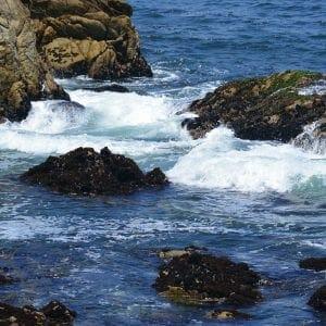 Waves in Monterey Bay, California