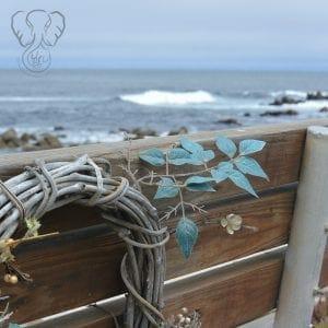Bench on the Monterey Bay Coastal Trail