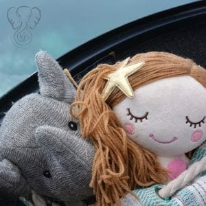 Adrian's Elephant and Peanut's Mermaid