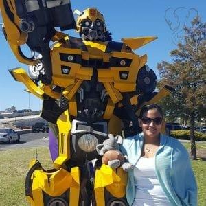 Miranda and Adrian's Elephant with Bumblebee