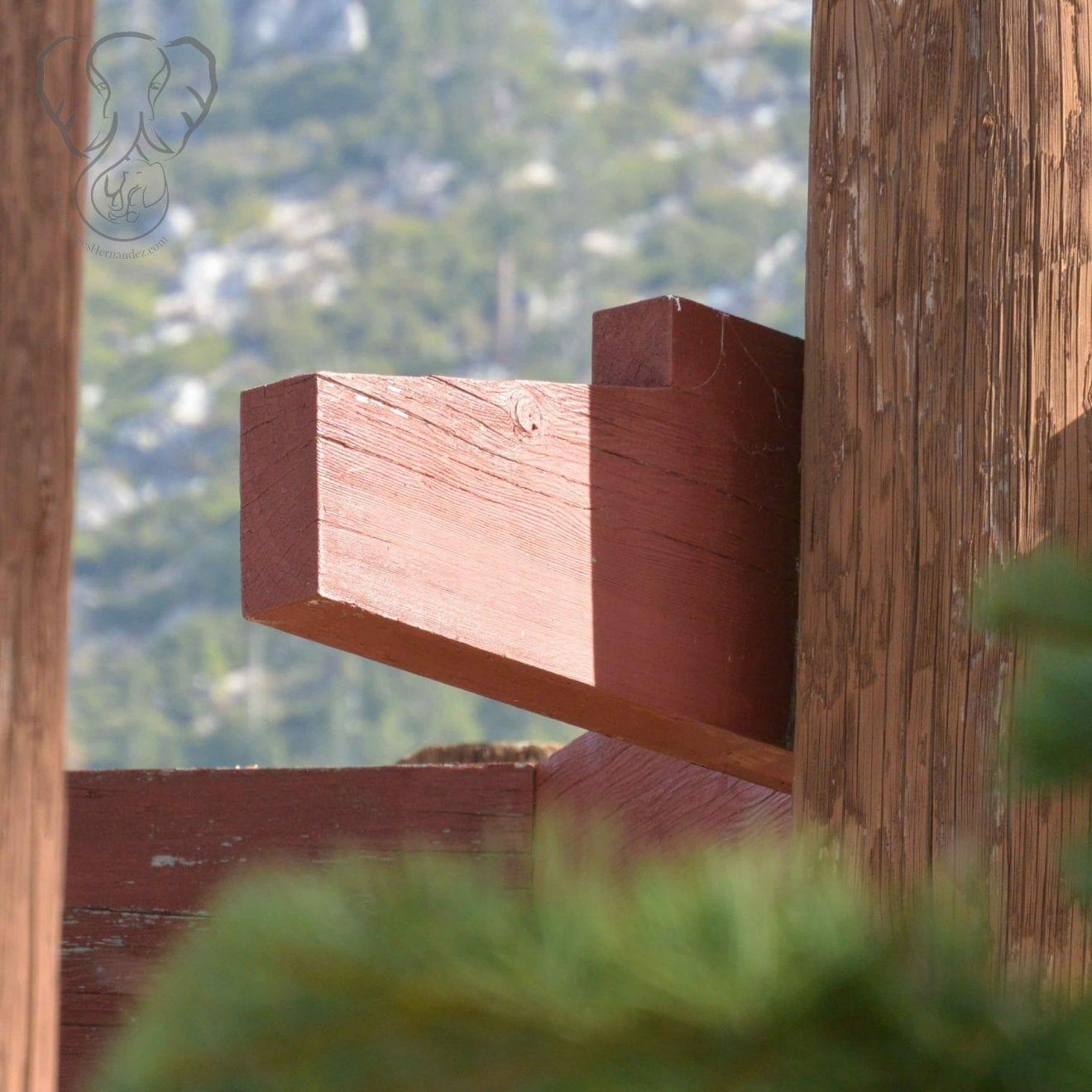 Wooden structure in South Lake Tahoe, California (Miranda Hernandez)