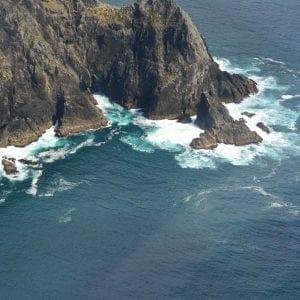 Ariel view of the Bay of Islands, New Zealand (Miranda Hernandez)