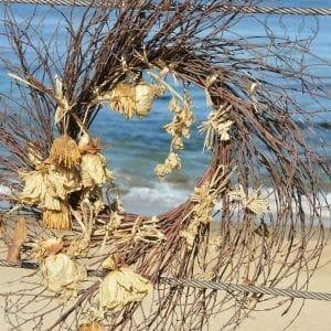 Found art of the California coast (Miranda Hernandez)