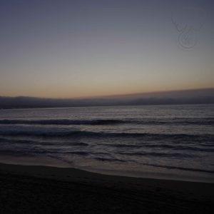 Sunset on the California coast (Miranda Hernandez)