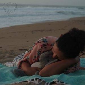 Miranda and Adrian's Elephant on the California coast (Synch Media)