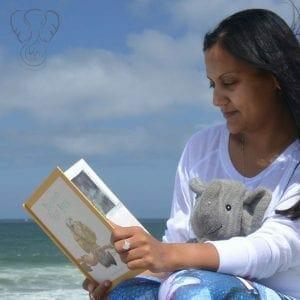 Miranda and Adrian's Elephant on the California coast (Miranda Hernandez)
