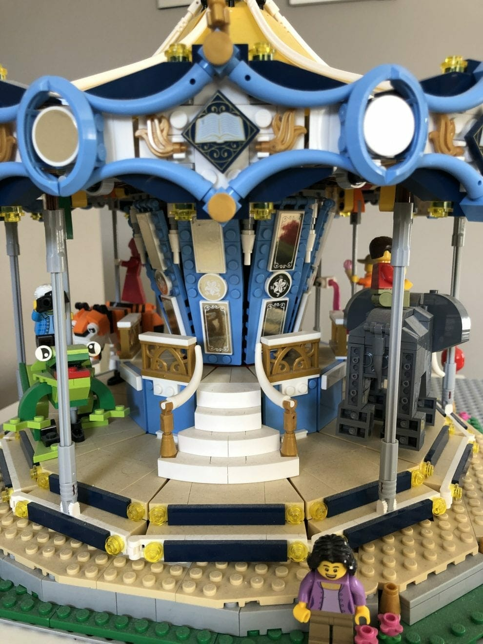 Lego set built in honor of Eli-Grace, contributed by mother Esther