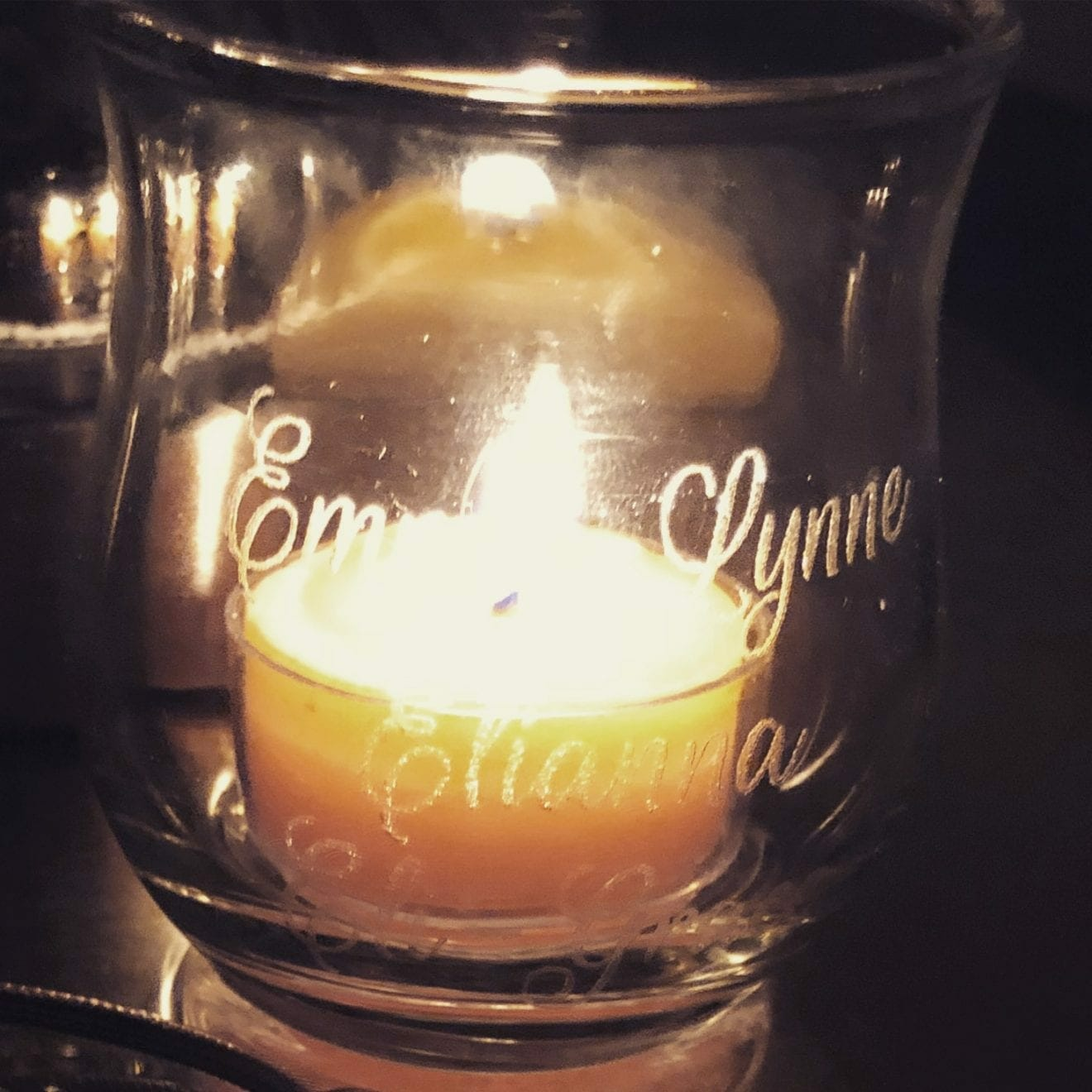 Candle in honor of Emma Lynne, Elianna, and Eli-Grace, contributed by mother Esther