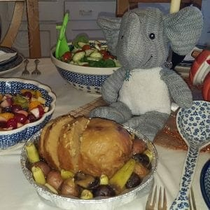 Adrian's Elephant at Thanksgiving