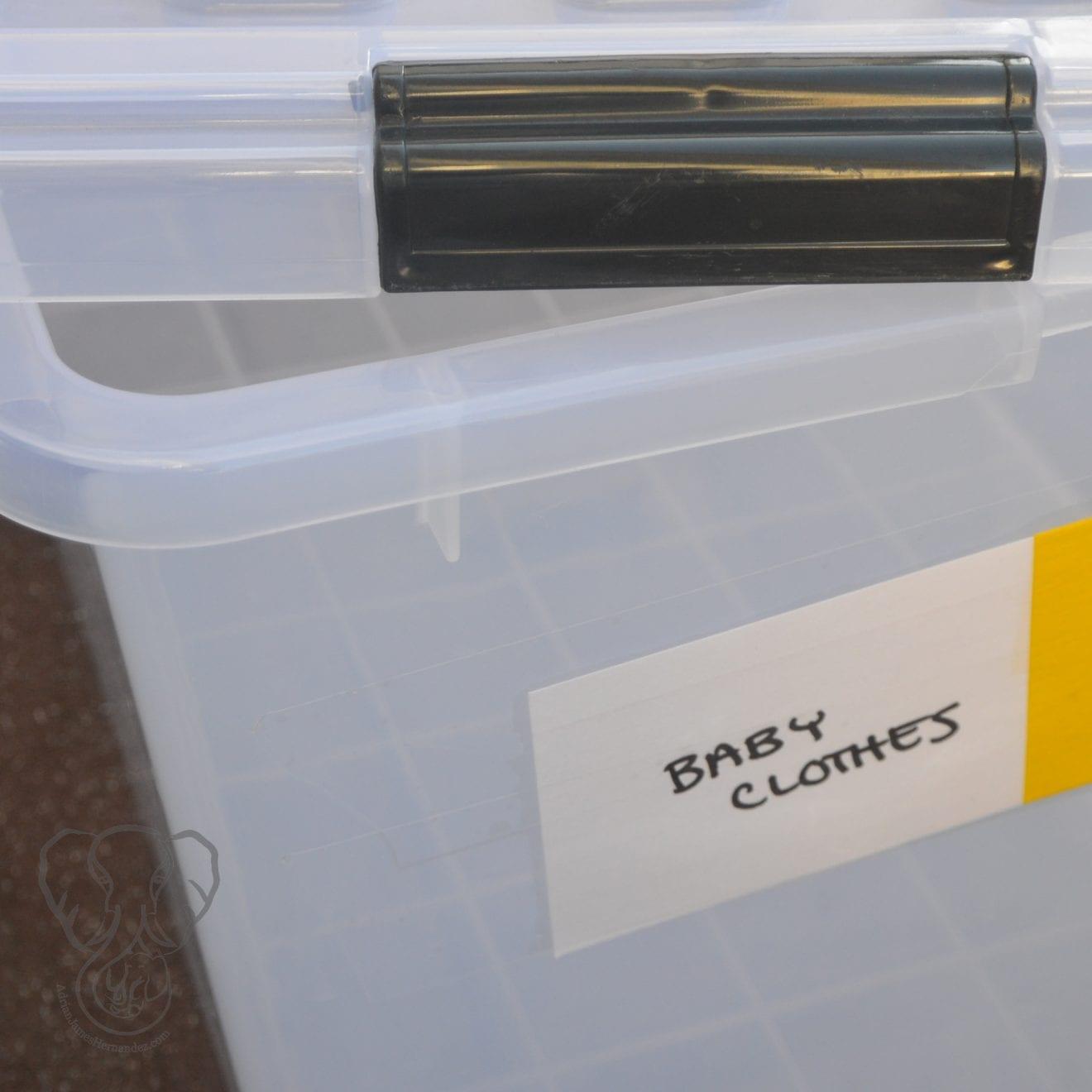 Empty storage container (Miranda Hernandez)