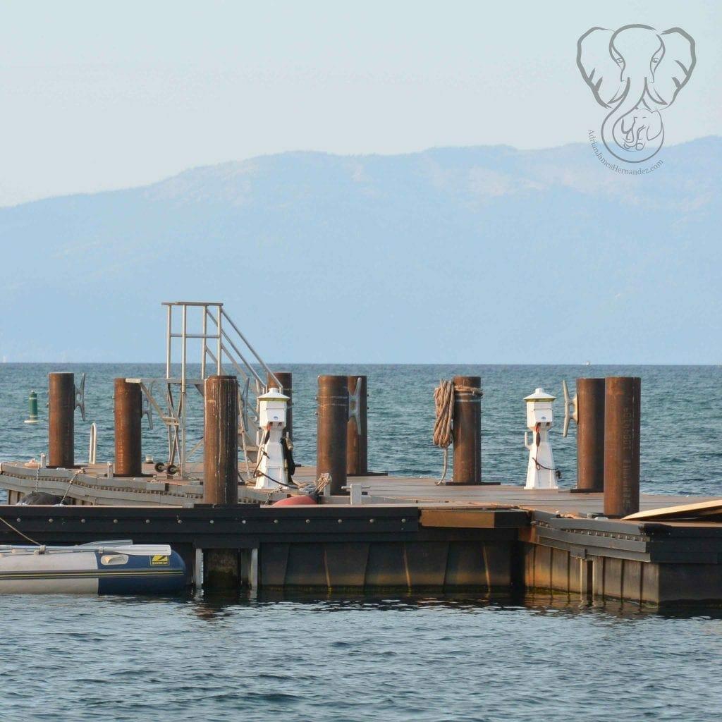 Pier in South Lake Tahoe, California