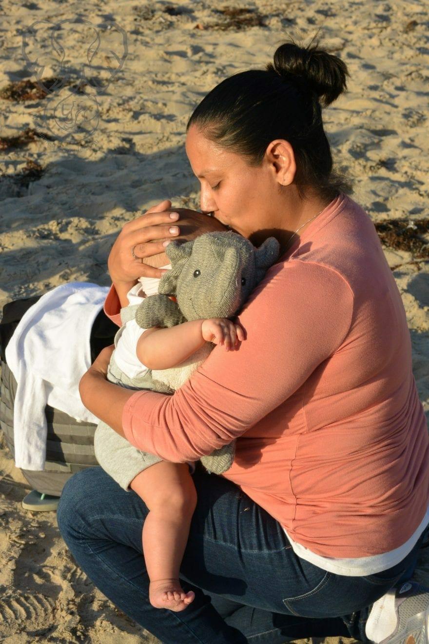 Miranda, Peanut, and Adrian's Elephant in Newport Beach (photo used with permission)