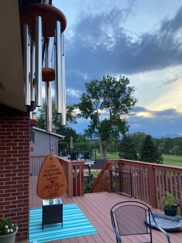 Arlo River's Windchimes, contributed by mother Holly