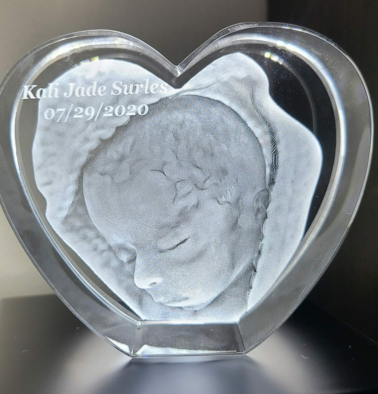 Art created in honor of Kali Jade Surles, contributed by mother Deneshia