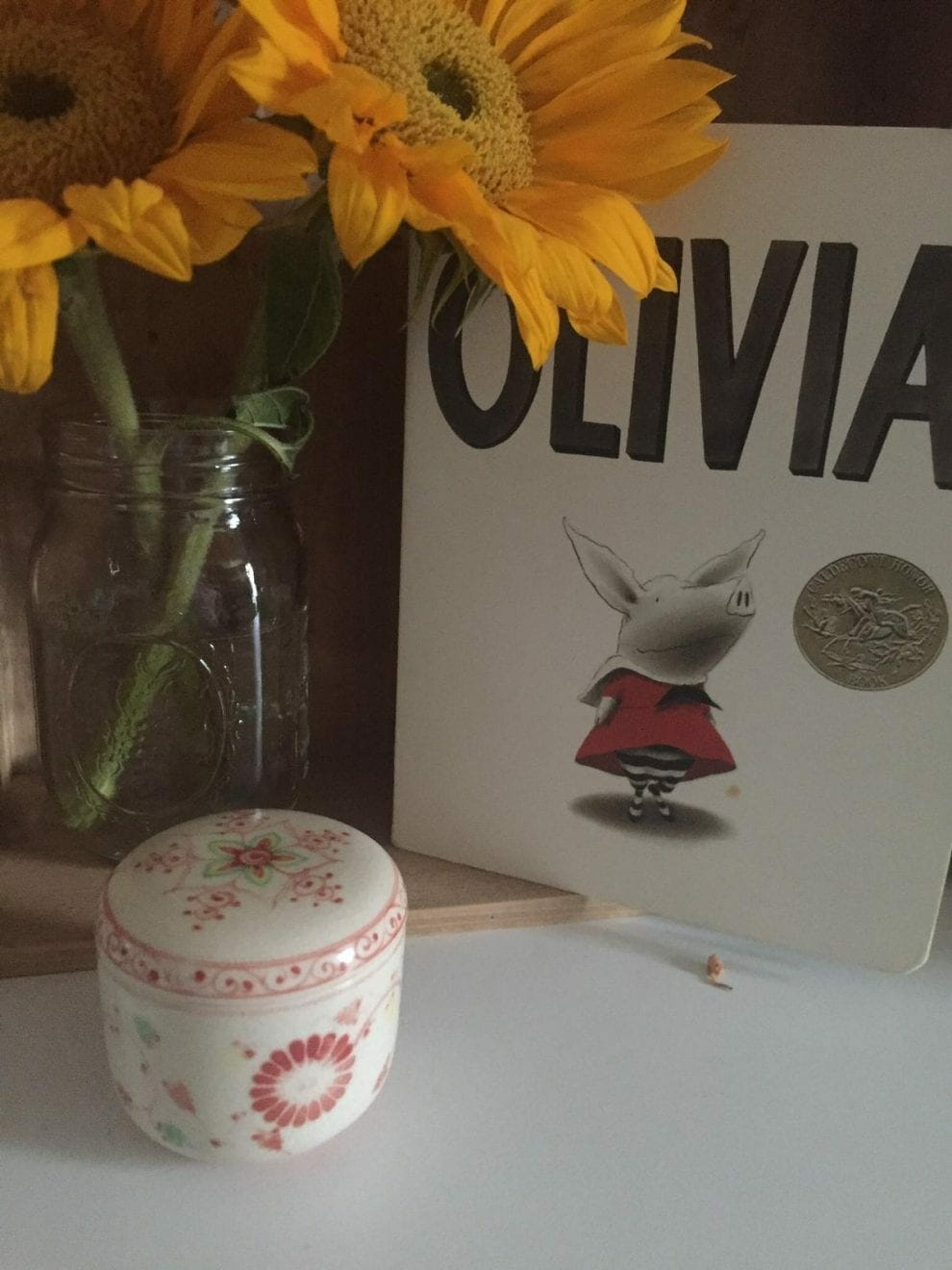 Memorial table for Olivia, contributed by mother Jillian