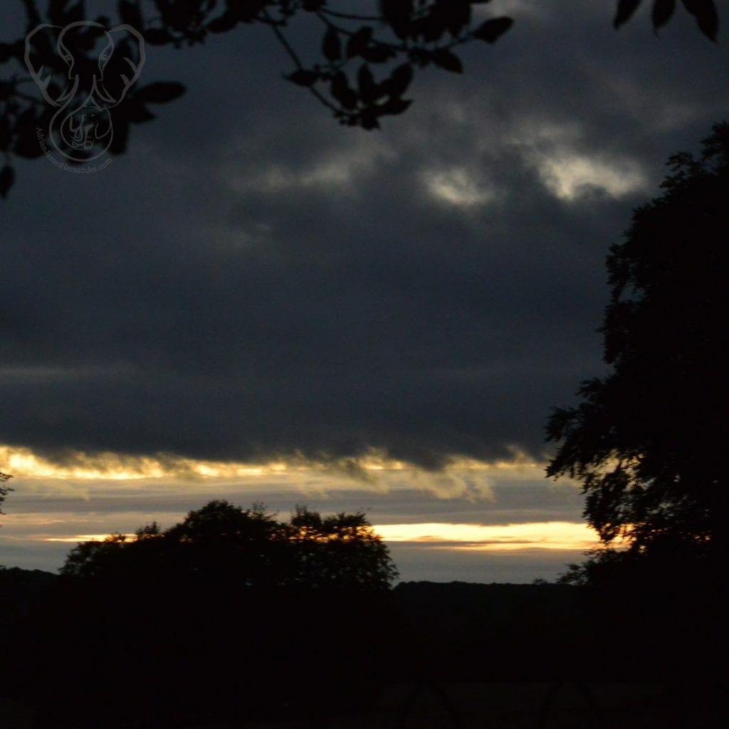 Sunset over Koloa, Kaua'i, Hawai'i (Miranda Hernandez)