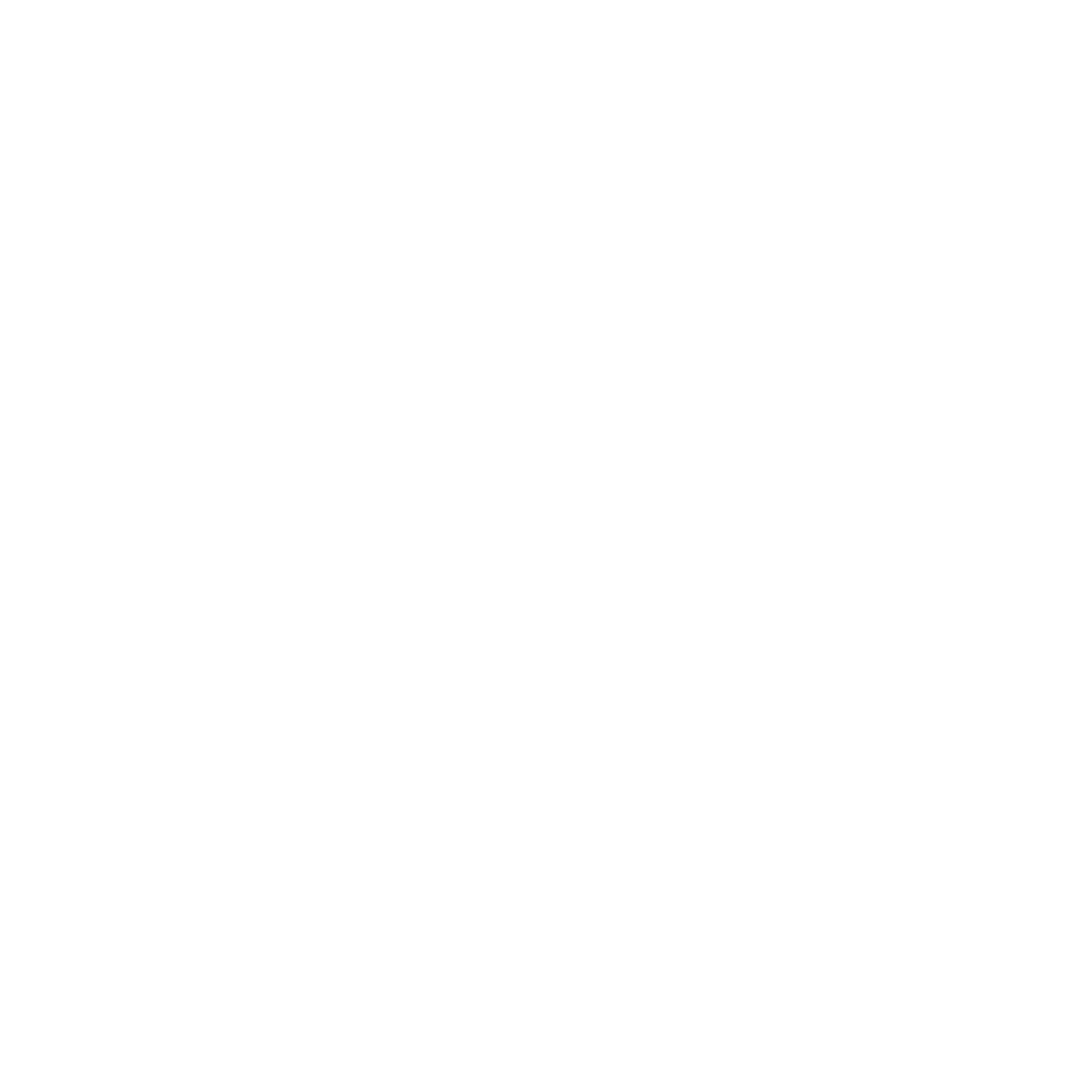 """Adrian's Elephant favicon in white: The Adrian's Elephant elephant logo centered, with the words, """"Adrian's Elephant"""" wrapped around from the top left to the bottom right"""