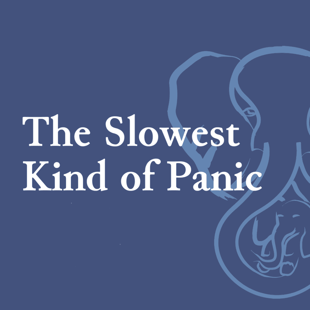 The Slowest Kind of Panic