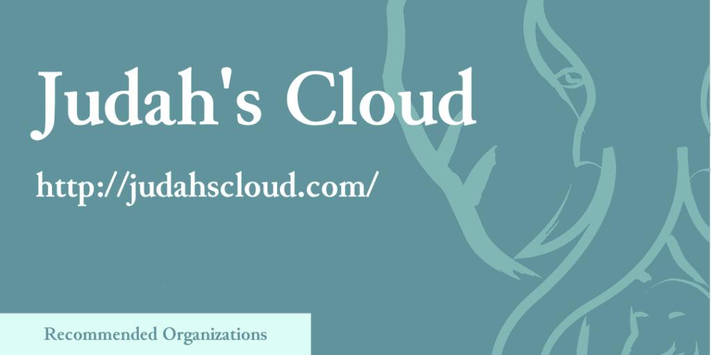 Recommended Organizations: Judah's Cloud, http://judahscloud.com/
